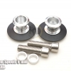สปูนสวิงอาร์ม Swing Arm Spools 6 mm Silver For Yamaha R1 , R3 , MT07 MT09