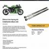 Ohlins Front Fork set for Kawasaki Ninha 250 , 300 สำเนา