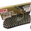 โซ่ RK 520 x 120L XW-Ring BL520X-XW สีดำข้อทอง
