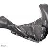 ครอบแบตเตอรี่ Yamaha X-MAX300 งานหุ้ม Carbon แบบเงา