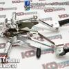 Back Step 4 Position D1 Silver For HONDA MSX 125
