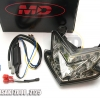 Tail Light MD Kawasaki Z800 ,Z125 , Ninja ZX-6R LED Signals in Smoke Lens