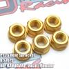 Bolt M10 P1.25 Rear Sprocket Aluminum S7075 For YAMAHA M10 R15,R25,R3 6P