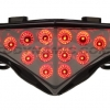 2012-2015 Kawasaki Ninja 650 & ER-6n Tail Light with Integrated Alternating Sequential LED Signals in Smoke Lens