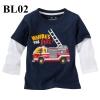 (BL02) เสื้อแขนยาว ไซส์ 2T (ผ้าดีมาก หนา นิ่ม สำหรับเด็ก 2-3ขวบ)