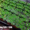 DID 520 x 120L O-Ring สีเขียว