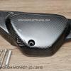 ฝากระเป๋าข้างขวา Pure Carbon Honda Monkey125