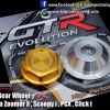 Cap Nut Rear Wheel Gold