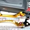 GTR PREMIUN 6-Position Adjustable Brake Lever Set For Yamaha R25 / R3