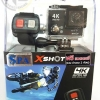 กล้อง X-SHOT H2 4K Ultra HD Action sport camera wifi Black + Remote Splashproof (Remote 2.4G:20m/66ft)