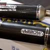 ARROW CARBON SLIP ON FOR DUCATI MONSTER 795,796