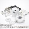 ตุ๊กตาแฮนด์ Handlebar Risers สูง 27 mm Silver For MT03