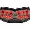 2010-2013 Kawasaki Z1000/Ninja 1000(2011-2015)/Versys (2010-2014) LED Tail Light with Integrated Alternating Sequential LED Signals in Smoked Lens