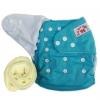 กางเกงผ้าอ้อมกันน้ำ+แผ่นซับไมโครฯหนา3ชั้น Size 3-16 kg.-Blue
