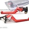 GTR มือเบรก R+L Red สีแดง For YAMAHA AEROX