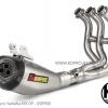 ท่อฟลู Akrapovic Exhaust SystemFull Titanium ตัว 3 รู Carbon Yamaha MT09,XSR900 2014+ - MT-09 Full Titanium ตัว 3 รู Carbon - สินค้าตรงรุ่น