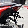 Seven Speed ท้ายสั้นพับแม่เหล็ก Yamaha R3 , MT03