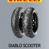 Pirelli diablo scooter 120+140/70/14 For Yamaha Aerox 155