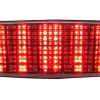 2014-2015 Honda Grom LED Tail Light with Integrated Alternating Sequential LED Signals in Smoke Lens