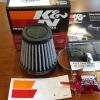 กรองเปลือย K&N ปาก 49 MM For Monkey125 , MSX125 made in USA
