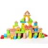 ชุดบล็อคไม้ของเล่น ทรงเรขา Mathematics Wooden Blocks 50 ชิ้น