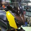 ชิวทรงสูงแบบฉีดขึ้นรูปสีสโมก Yamaha X-MAX300