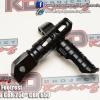 GTR Rear Footrest Black for CBR250- CBR650