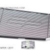 การ์ดหม้อน้ำ Evotech For Yamaha MT09 / 2017