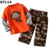 (GTL14) เซ็ทเสื้อแขนยาว+กางเกงขายาว ไซส์ 24M, 3T, 4T (ผ้าดีมาก หนา นิ่ม)