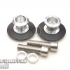 สปูนสวิงอาร์ม Swing Arm Spools 10 mm Silver For Kawasak NINJA 300 Z300