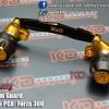 Swing Arm Guard กันล้มท่อ Glod&Black for Honda PCX , Forza 300