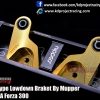 Plating Type Lowdown Bracket By Nupper For HONDA FORZA 300