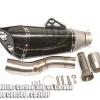 ชุดท่อ Slip on ปลายR Carbon For HONDA CB500F , CBR500 , CB500X 2014-2017
