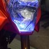 หลอกไฟหรี่ LED Blue