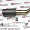 Muffler Slip on Stanless Carbon For Yamaha YZF R3