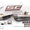 SC PROJECT S1 Titanium MUFFLER Slip On FOR KAWASAKI ZX10R 2015-17