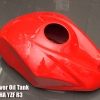 Friber Cover Tank Red Color For YAMAHA YZF R3