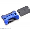 ฝาปั้มดิสคู่บน GTR สีน้ำเงิน for FORZA300 2014-18