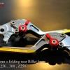 ชุดมือเบรกก้านสไลท์ GTR Ninja 250,300,Z250 สีทอง
