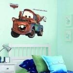 สติกเกอร์แต่งห้อง DIY ลาย Disney Pixar Cars ลอกออกแล้วติดซ้ำได้