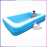 สระน้ำ 4 เหลี่ยม 3ชั้น Jilong 308x183x56 cm