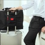 กระเป๋าเดินทางพับเก็บได้ อเนกประสงค์ เพื่อการเดินทาง ท่องเที่ยว เสียบที่จับของกระเป๋าเดินทางได้