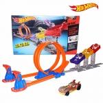 ชุดต่อรางรถซิ่ง Hot Wheels รุ่น Super Score Speedway