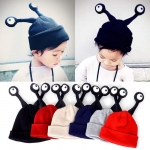 หมวกกันหนาวเด็ก ตาแมลงยื่น น่ารักแสนกวน สำหรับเด็กวัย 1-4 ปี
