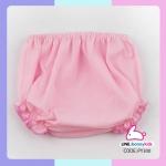 กางเกงทารกขาจั๊ม ผ้าป่าน (แพ็ค 6 ตัว)