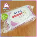 BABY WIPE Pureen แพ็ค 80 ชิ้น ซื้อ 1 แถม 1