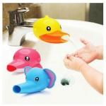 หัวต่อขยายระยะก๊อกน้ำอ่างล้างมือรูปสัตว์ ให้เด็กใช้อ่างล้างมือได้สะดวก ไม่ต้องเอื้อม