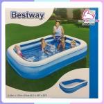 สระว่ายน้ำเป่าลม 4 เหลี่ยม Bestway 2.62x1.75x0.51m