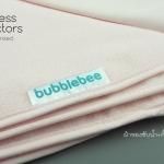 แผ่นรองซับ Bubble Bee Fleece ไซส์ 70x100 ซม. ซับน้ำได้ประมาณ 500 cc