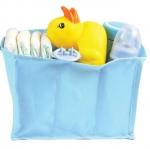 ช่องจัดระเบียบกระเป๋า แบ่งของใช้เด็ก Size S สีฟ้า/ชมพู